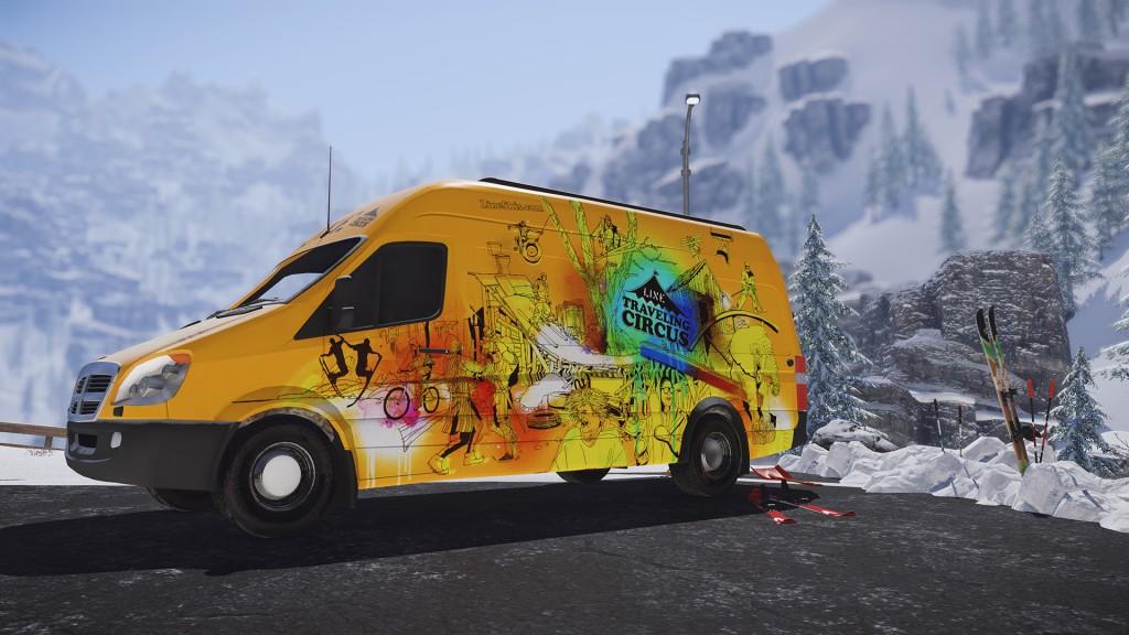 SNOW End Session Van
