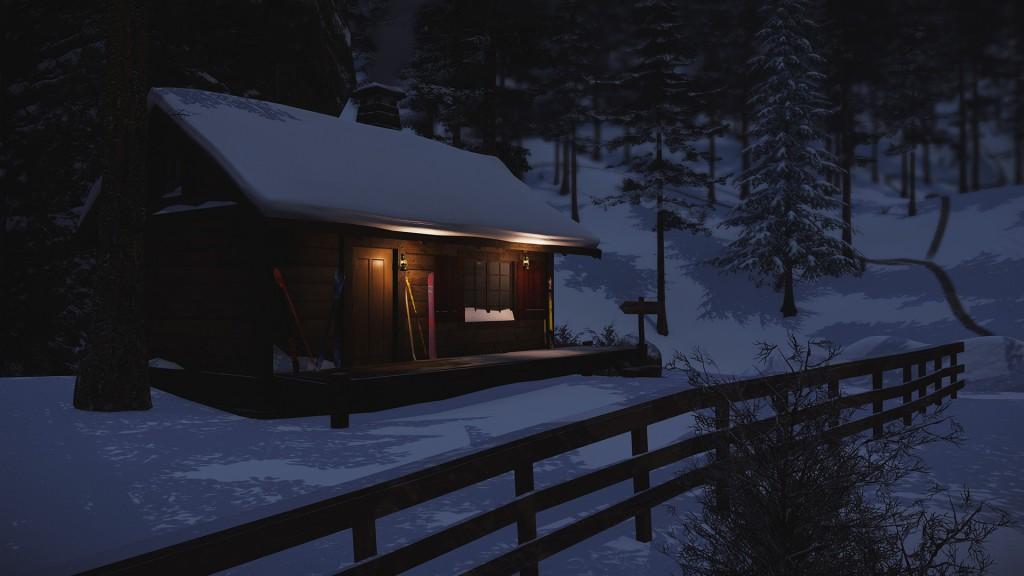 SNOW End Session Lodge