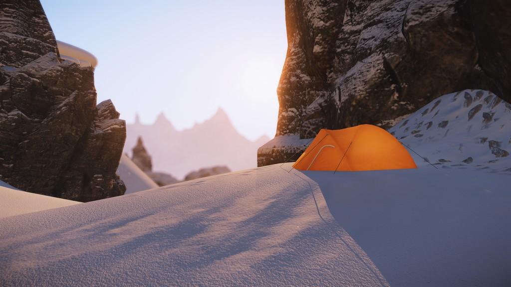 SNOW End Session Campsite